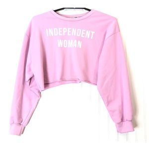 Fashion Nova Independent Woman Sweatshirt A0541